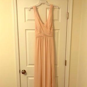 Bill Levkoff Petal Pink Bridesmaid dress- size 6